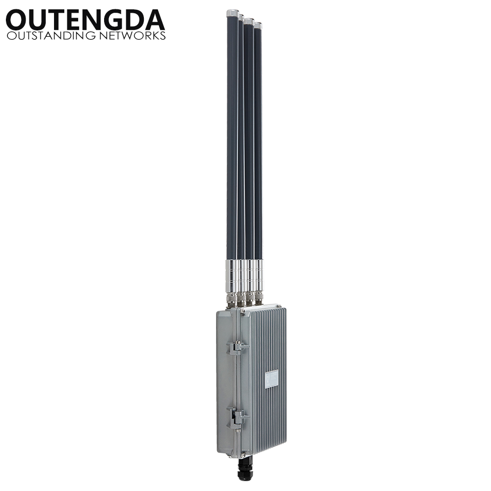 Routeur haute puissance de point d'accès sans fil INTELLIGENT 802.11AC 5.8 Ghz 1200 Mbps pour le projet de couverture WIFI extérieure Booster de Signal AP - 3