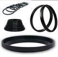black Metal 25.5mm-37mm 25.5-37 mm 25.5 to 37 Step Up Filter Ring Adapter for sony canon nikon dslr camera