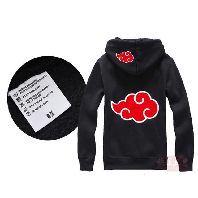 Men Naruto Jacket Thick Zipper Sweatshirts