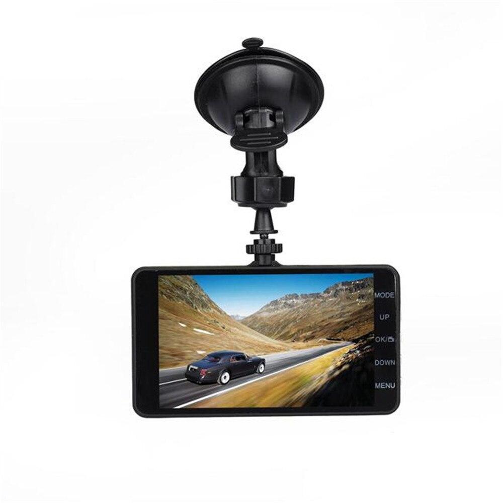 Dash Cam 4.0 inchs Car DVR Camera Dual Lens Video Recorder Full HD 1080P Super Night Vision170 degree lens