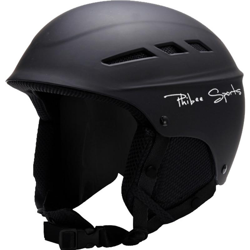 Promotio Man Woman Kids Ski Helmet Winter Plush Snowboard Helmet Skateboard Skating Mask Moto Bike Cycking