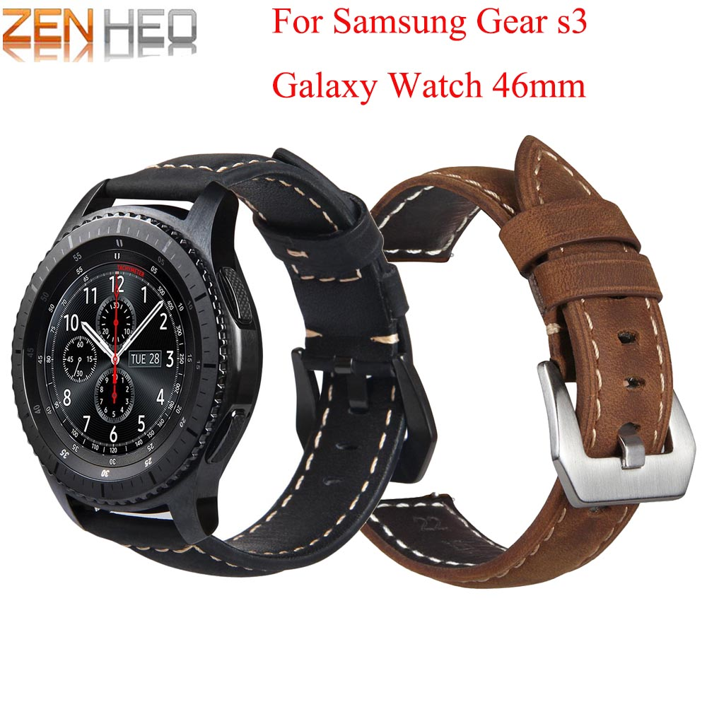 Bracelet Watchband 46mm-Strap Classic-Accessories Frontier-Band Samsung Gear for S3 Galaxy