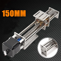 Mini 150MM CNC Z Axis Slide 3 Axis DIY Motion Milling Engraving Engraving machine accessories