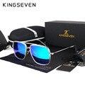 Classic Retro KINGSEVEN Polarizado gafas de Sol de Las Mujeres Diseñador de la Marca de Metal Eyewear Frame 2017 Shades Hombres Gafas de Sol Gafas de Sol