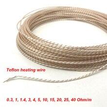 Высокое качество электрическое Отопление DIY Подогрев заготовка рулевого колеса нагревательный провод, 5 в 12 В 24 в 36 в 48 в нагревательный кабель