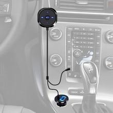 1 pc Bluetooth 4.0 Sans Fil Musique Récepteur 3.5mm Adaptateur Mains Libres De Voiture AUX Haut-Parleur De Voiture Électronique Gadgets Accessoires