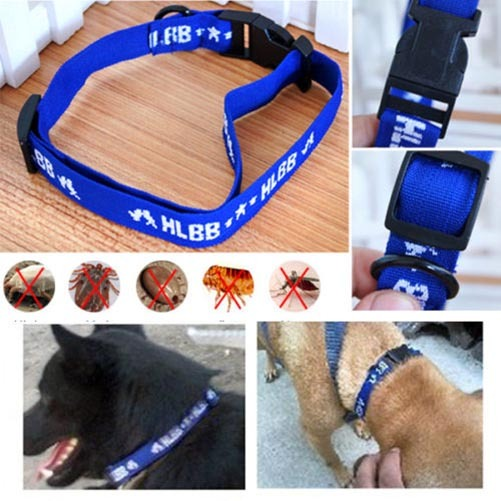 New Safety Adjustable 4in1 Dog's 4 Month Control Anti Fleas Ticks&Mosquitoes Collar Nylon Neck Strap