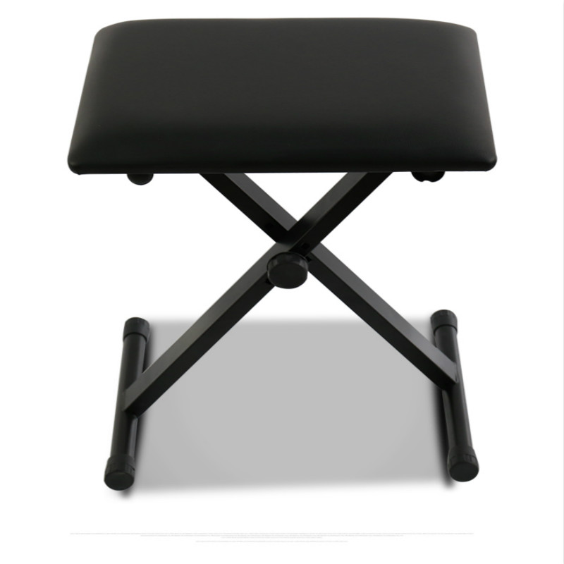 folding chair rubber feet swivel table adjustable piano keyboard bench x frame leather padded seat stool in stools ottomans from furniture on