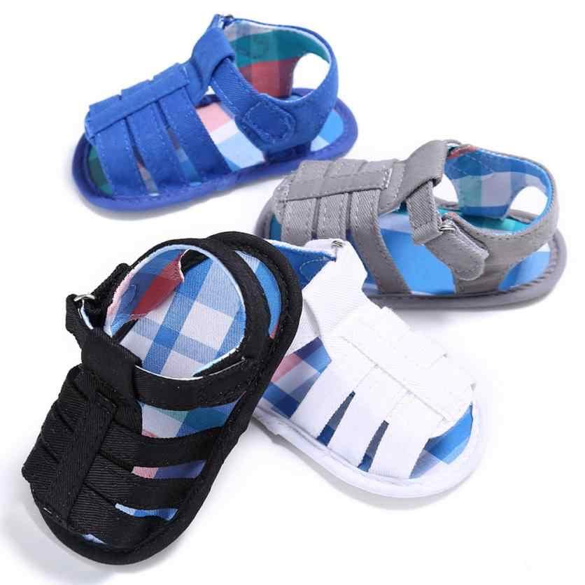 TELOTUNY 2018 summer baby boys Sandals Shoes Baby Infant Kids Girl boys Soft Sole Crib Toddler Newborn Sandals Shoes Non-slip