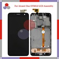 For Alcatel One Touch Idol Mini 6012 OT6012 6012D LCD Screen Display + Touch Screen Digitizer Assembly Frame free shipping
