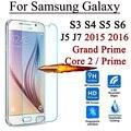 2.5d 9 h protetor de tela de vidro temperado para samsung galaxy grand prime core 2 S3 S4 S5 S6 J5 J7 J5008 J7008 2015 J1 mini 2016