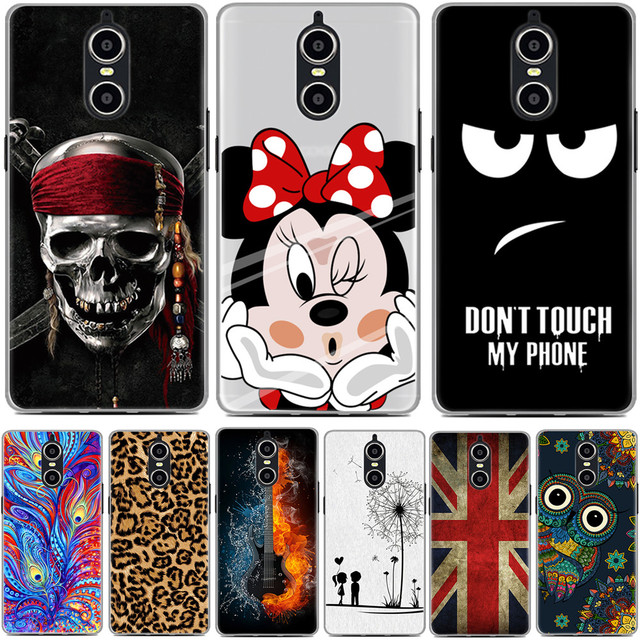 Doogee Shoot 1 Case Luxury Cartoon TPU Case Cover For DOOGEE Shoot 1 Soft Silicon 5.5 inch Phone Protective Back Cover Skin