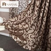 European style window treatments 3d curtains Chinese curtains home textile decoration modern curtain short curtain