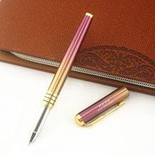 1 peça 0.38/0.8mm canetas positivas canetas de tinta de luxo para crianças escrita escola material de escritório artigos de papelaria