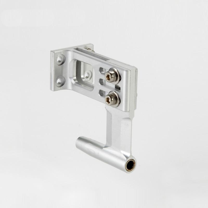 Cnc 4mm Flex Shaft L-shape Bracket/holder/frame Flexible Shaft Aluminum Support Parts For Rc Boat Rc Brushless Electric Boat
