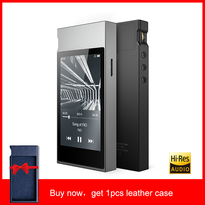 FiiO M7 High-Resolution Lossless Audio Player Bluetooth4.2 aptX-HD LDAC Touch Screen MP3 with FM Radio Support Native DSD