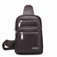 Genuine leather men's bags Cow leather single shoulder bag hot sale Brand business briefcase Vintage bags DDWB131