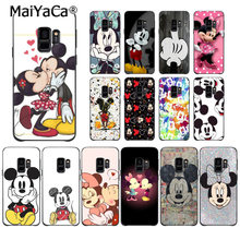 MaiYaCa Beauty Kissing Mickey Minnie Mouse Case Phone Case for Samsung Galaxy S9 plus S7 edge S6 S10 Lite S10Plus S10E S8 plus(China)
