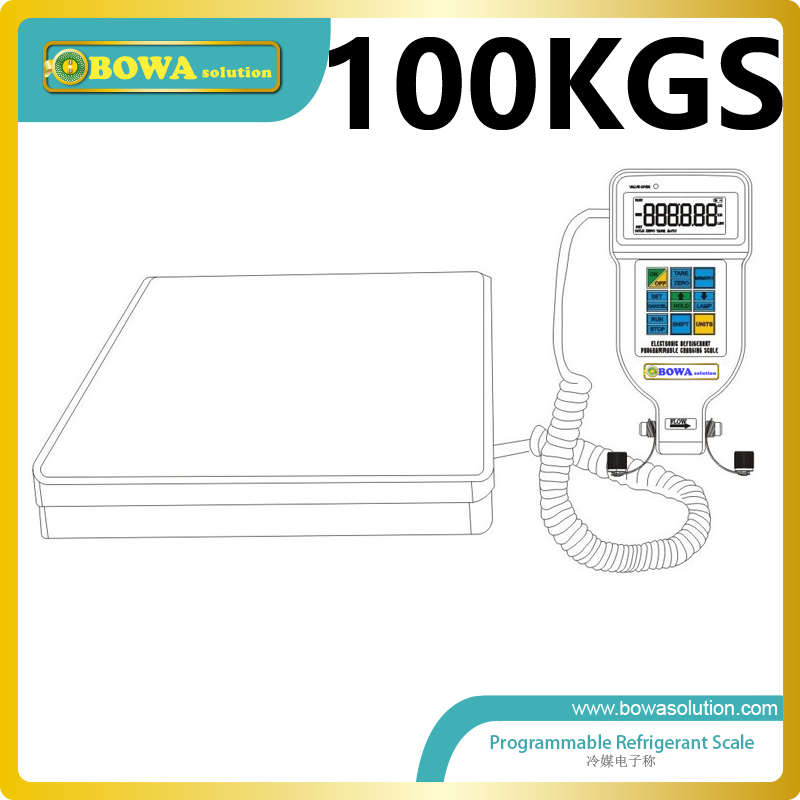 100Kgs programmable gas charging scale suitable for kinds of refrigeration equipments and air conditioners 1 45bar auto reset pressure controls installed in r410 havcr products and equipments such as precision air conditioners