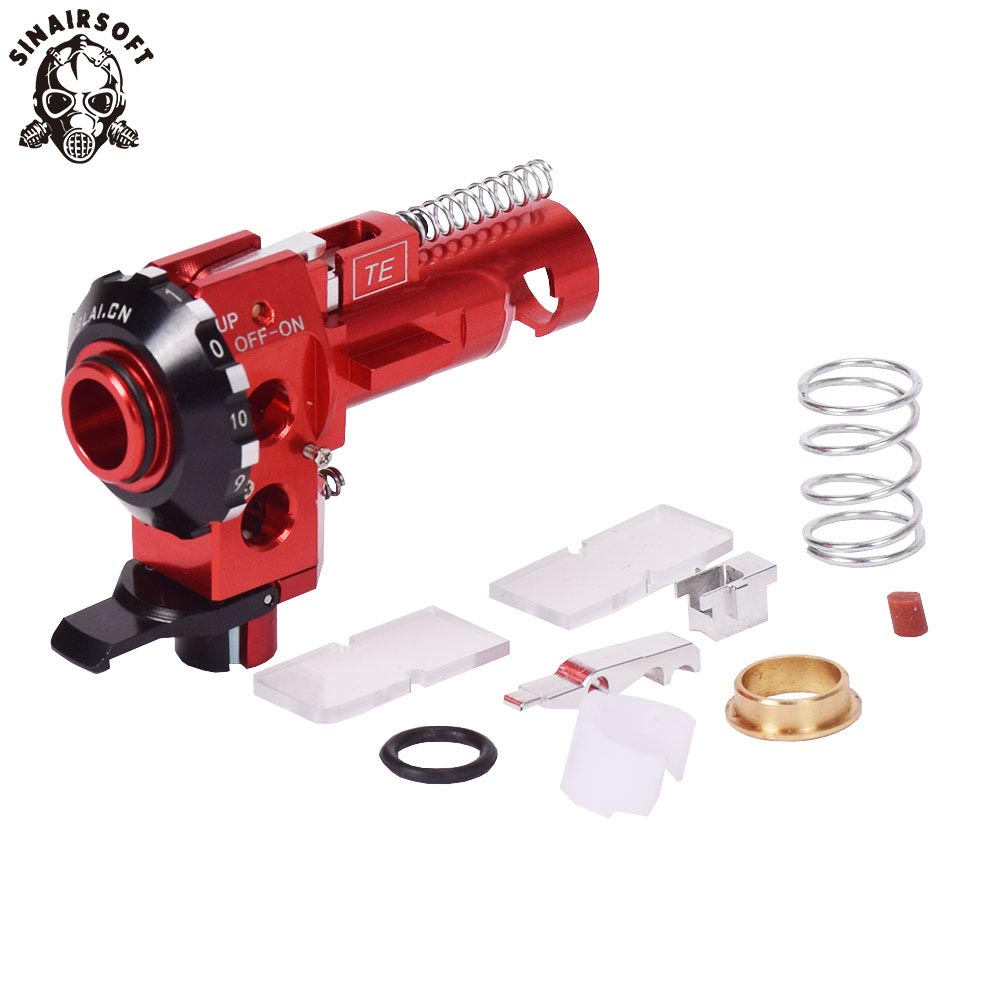 SINAIRSOFT Hot AEG High precision Tactical PRO CNC Aluminum Red Hop up Chamber For M4 M16 series Airsoft hunting Accessories