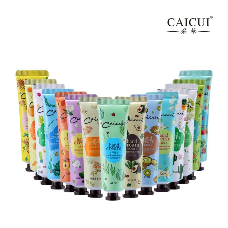15 unids / lote Blanqueamiento Crema Hidratante Para Manos Mini Lociones de Mano Nutritivas Anti Envejecimiento Pies de Manos Crema de Cuidado de Piel para Hombres Mujeres