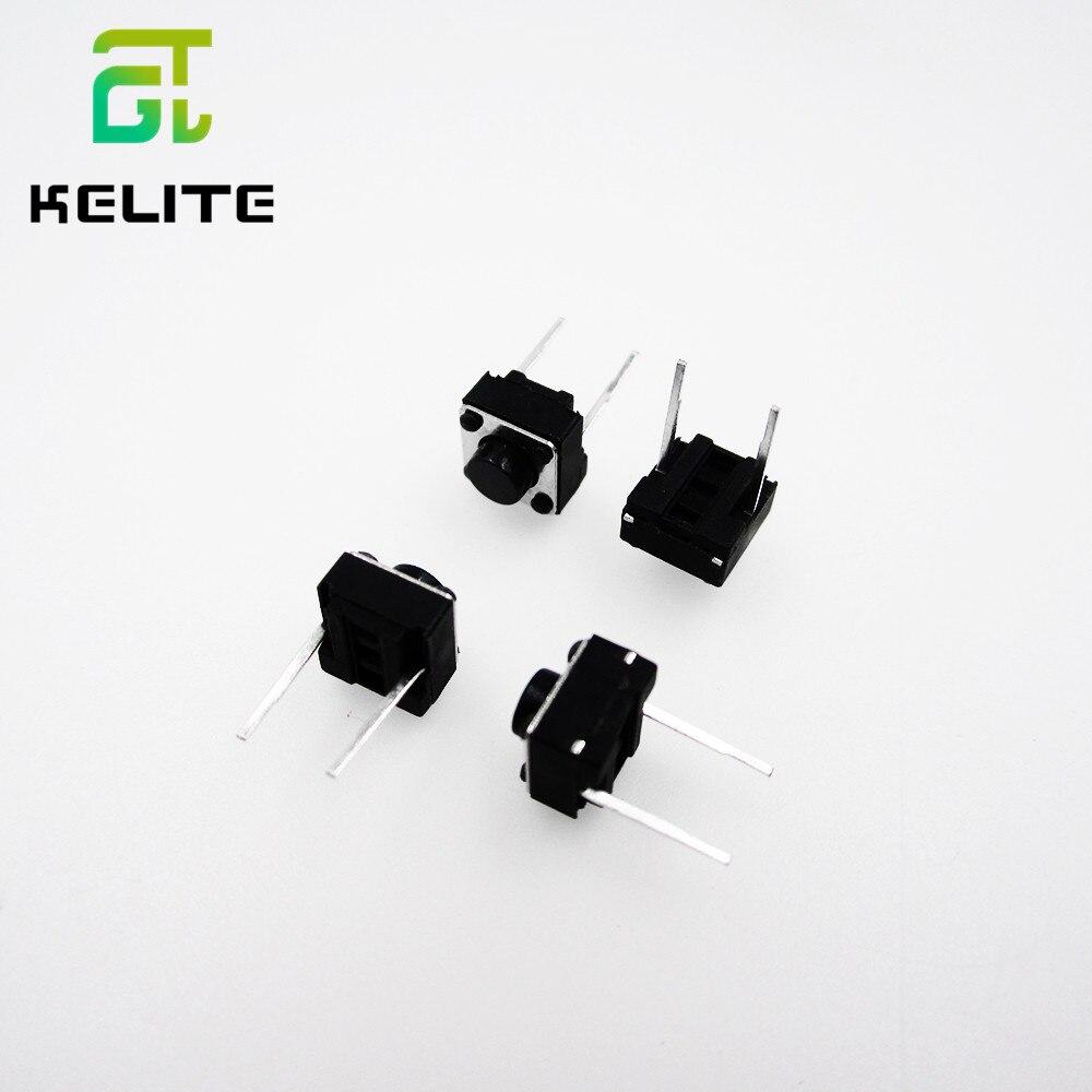 HAILANGNIAO Tactile Push Button Switch 6x6x5mm 6*6*5mm 2p
