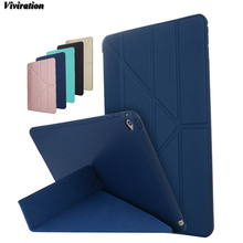 2017 The Most Popular TPU High Qualuty Tablet PC Cover Case For Apple iPad Air 2 For Apple iPad 6 Viviration Fashion Stand Cover