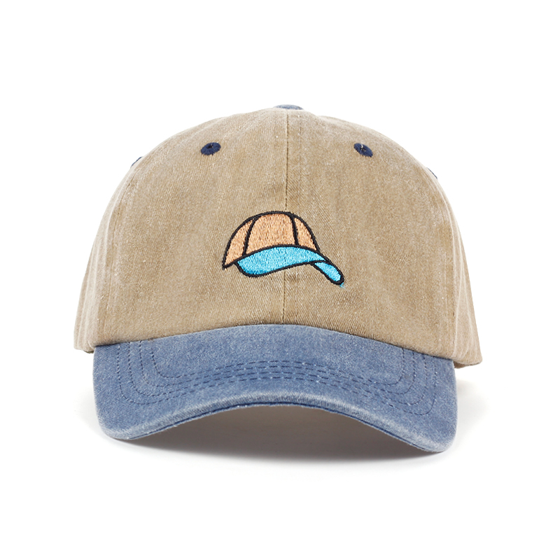 VORON New style high quality waterwash cotton Dad hat   cap   embroidery   baseball     cap   adjustable snapback hats factory sells direct
