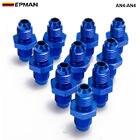 10PCS/LOT Blue Anodi...