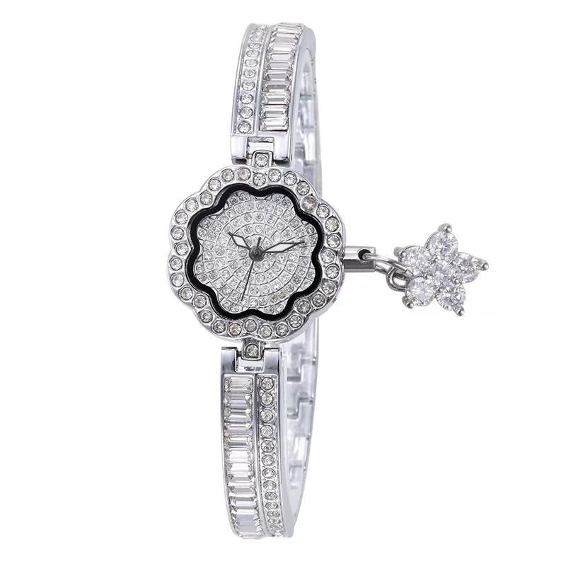 Cacaxi Elegant Jewelry Watch Women Crystal Ladies Luxury Dress Wristwatches Platinum 18K Gold Plated Clock Relogio Feminino Karachi