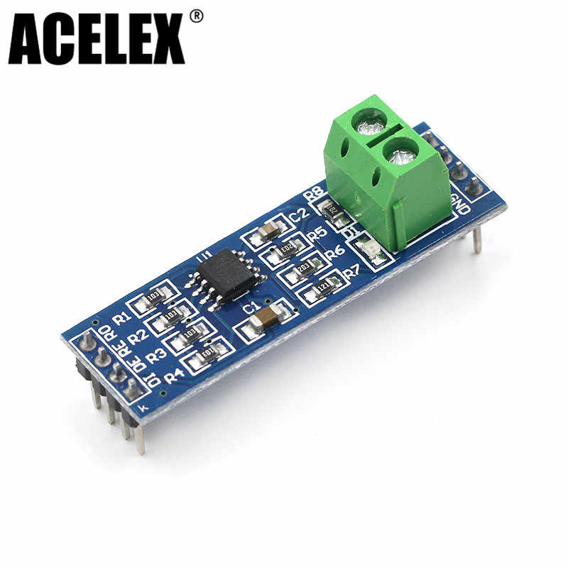 MAX485 Module RS-485 TTL Turn To RS485 MAX485CSA Converter Module For Arduino Microcontroller MCU Development Accessories