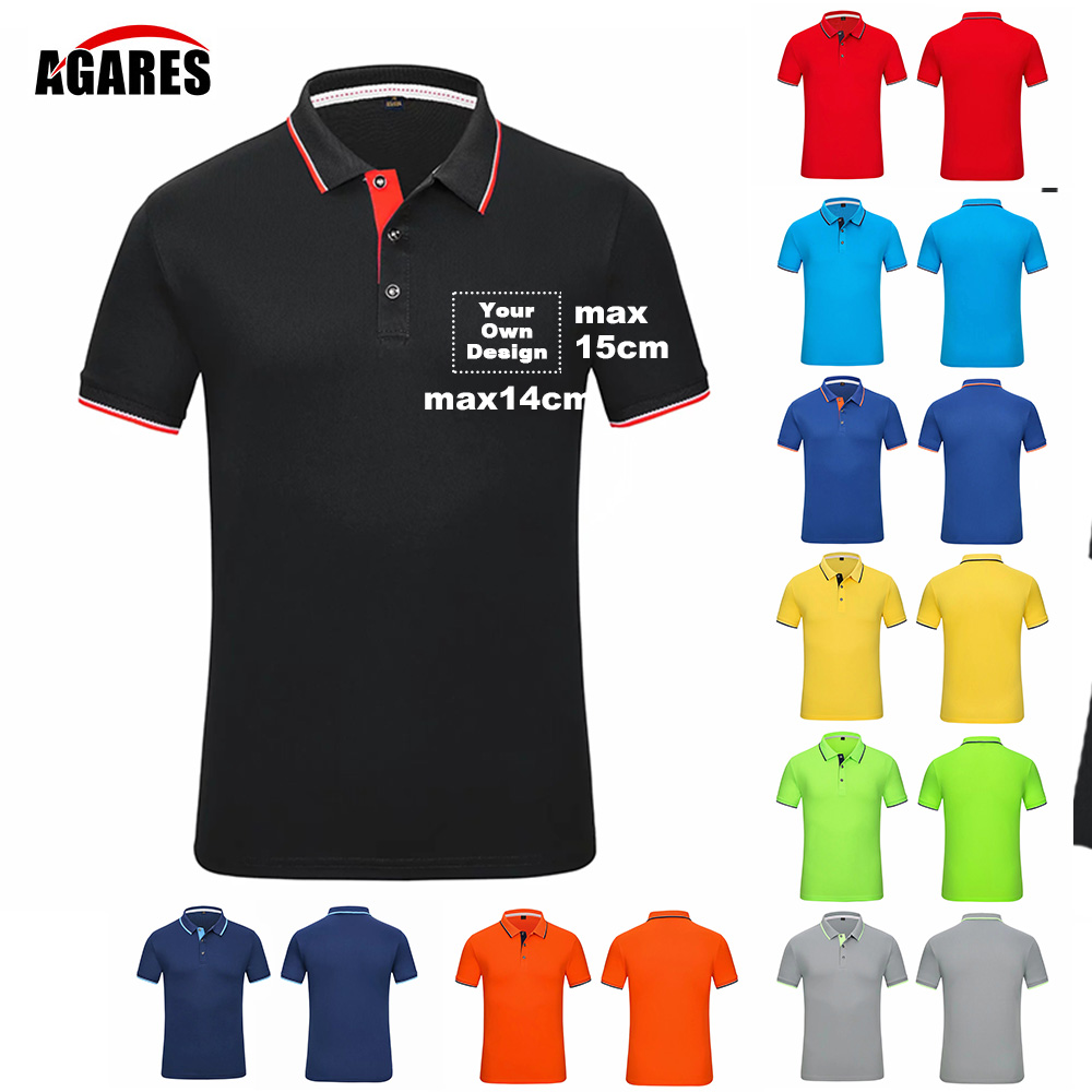 2019 Your OWN Design Quick drying Brand Logo/Picture Custom Men and women   Polo   Shirts Plus Size   Polo   Shirt Men Clothing 120 SA-8