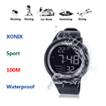 2016 New Brand XONIX Watch Men Military Sports Watches Fashion PU   Waterproof LED Digital Watch For Men Clock digital-watch