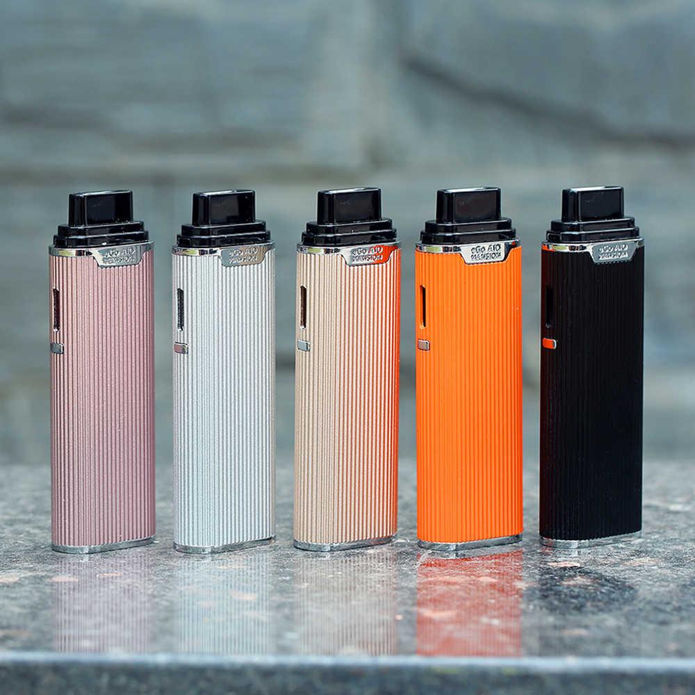 100% Оригинал Joyetech eGo AIO Mansion Kit 1300 мАч батарея с емкостью 2 мл 0.6ohm BF SS316 электронные сигареты vs Teros One/Drag Nano