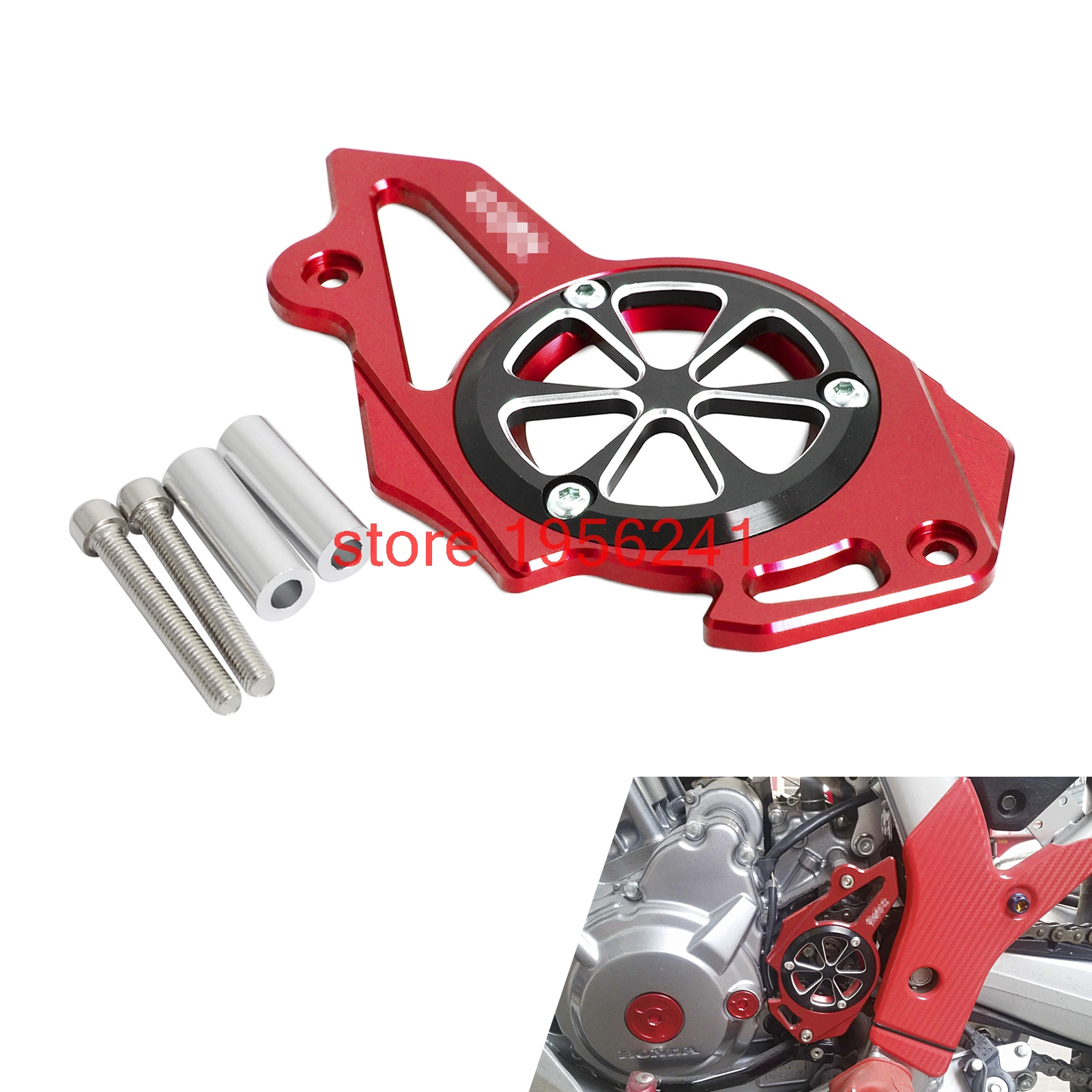 For Honda CRF250L CRF250M 2012 2013 2014 2015 CRF250 L/M CNC Front Sprocket  Chain Cover Guide Guard Protector-in Covers & Ornamental Mouldings from ...