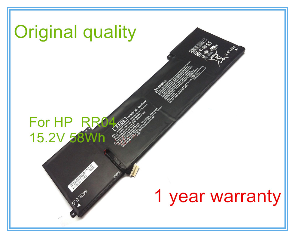 Original RR04 Battery for 15 15-5014TX 778951-421 (4ICP6/60/80) TPN-W111 HSTNN-LB6N 15 2v 58wh rr04 notebook battery for hp omen 15 15 5014tx tpn w111 778951 421 4icp6 60 80 hstnn lb6n