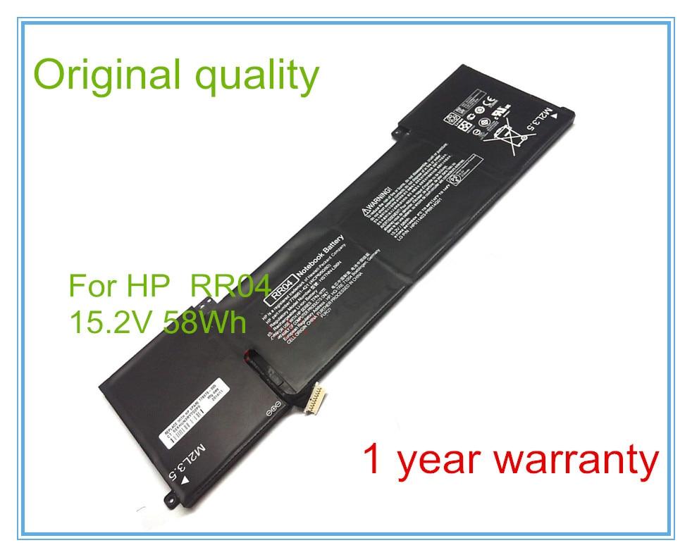 Оригинальный аккумулятор RR04 для 15 15-5014TX 778951-421 (4ICP6/60/80)