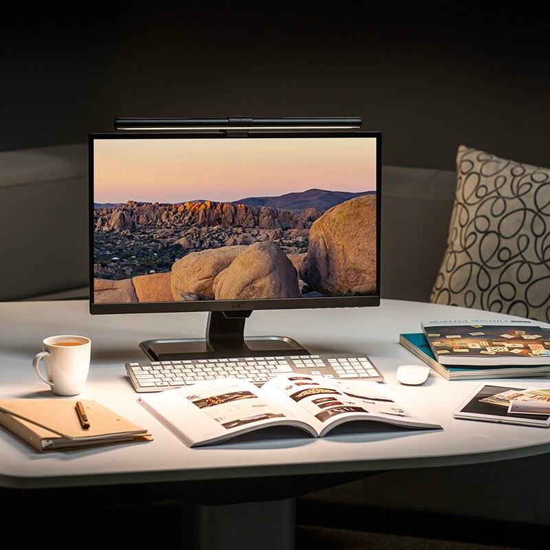 Moniteur lecture écran lampe suspendue travail affaires bureau lampe de Protection des yeux Led lampe de Table USB Rechargeable lampe de Table