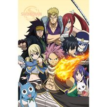 New Fairy Tail Japan Anime Poster Custom Satin Poster Print Cloth Fabric Wall Poster Print Silk Fabric Print Poster(China)