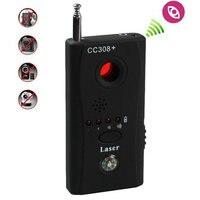 5 adet/grup Toptan CC308 Anti Mini Kamera RF Sinyal Bug Dedektörü GPS Cihazı Tracer Bulucu Kablosuz Sinyal Tarayıcı Dedektörü Yeni