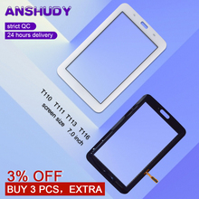 For Samsung Galaxy Tab 3 Lite 7.0 SM- T110 T111 T113 T116 Touch Screen Digitizer Panel Replacement