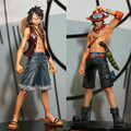16cm PVC One Piece Luffy & Ace Action Figure Toy, 6.3inch One Piece Figure Model, Anime Brinquedos, Toys For Children