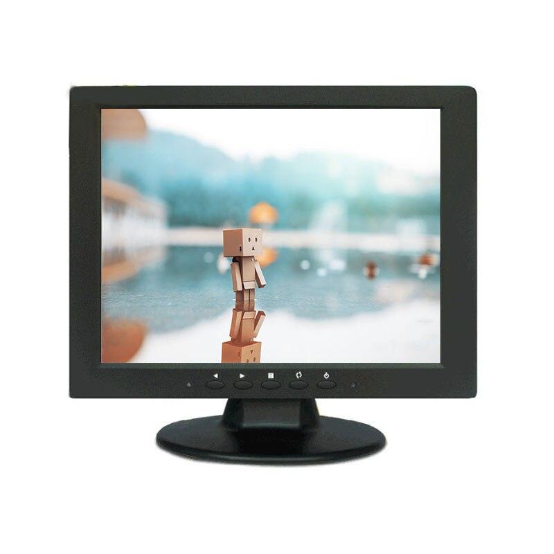 10.4 pouces TFT LCD 800*600 HD écran tactile moniteur avec Port AV/BNC/VGA/HDMI pour FPV DVR PC DVD CCTV sécurité