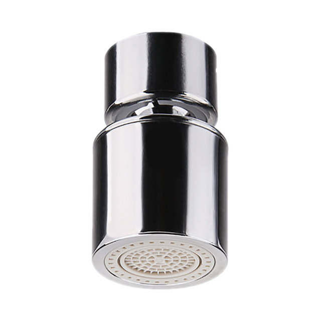 2-Flow Hose Aerator Diffuser Filter Water Faucet Bubbler Kitchen Sink Aerator 360-Degree Water Saving Tap Swivel With Dual Spray