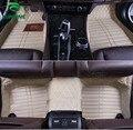 De calidad superior 3D alfombra del piso del coche para Honda ACCORD estera del pie del cojín del pie del coche 4 colores de la mano izquierda envío gota conductor