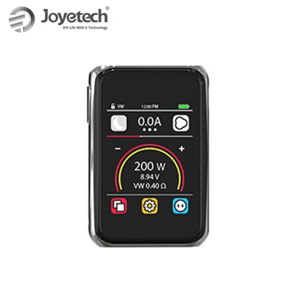 100% Original Joyetech Cuboid PRO Mod Kit Touch Panel Screen Used By 18650(not included) 200W Wattage e-Cigs цена