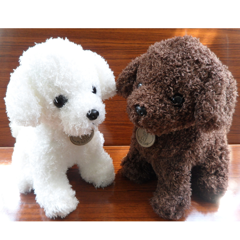 Recording Flashing Electronic Dogs Pets Seaweed Curly Sound Toy Dog Cute Electronic Pet For Children Christmas