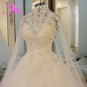 Image 3 - AIJINGYU Moederschap Trouwjurken Vintage Gown Nieuwe Bridal Boho Chic Dragen Avondjurken Vintage Trouwjurk Met Mouwen
