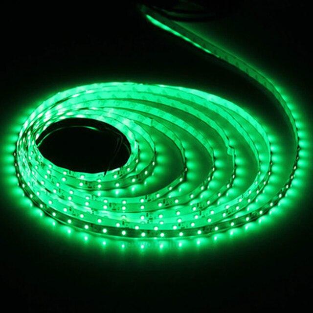 5M 3528 60 LED Strip DC12V Red/Yellow/Blue/Green/White/Warm White No-Waterproof Strip