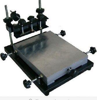 Nouvelle imprimante manuelle de pochoir, imprimantes d'écran en soie semi-automatiques de bureau d'imprimante de pochoir de STM